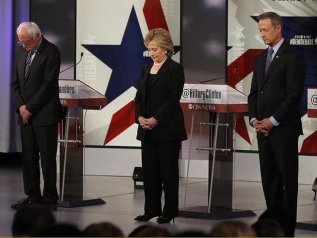 US presidential race,Paris carnage,Bernie Sanders