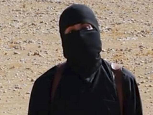 This still image from undated video released by Islamic State militants purports to show the militant known as Jihadi John.