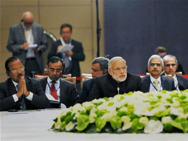 Antalya: Prime Minister Narendra Modi at the BRICS meeting, on the sidelines of G20.