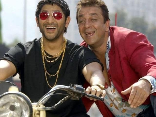 Arshad says shooting for the third installment of the Munnabhai series will start once Sanjay Dutt is out of prison. Dutt is currently serving his prison term in Pune's Yerawada Jail following his conviction in the 1993 Mumbai serial blasts case.