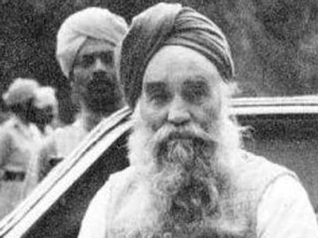 Master Tara Singh-prominent Sikh political and religious leader.