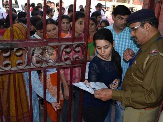 HTET exam,Jind police,accused