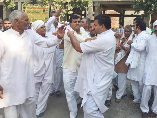 Gohana,Jat leaders,clash