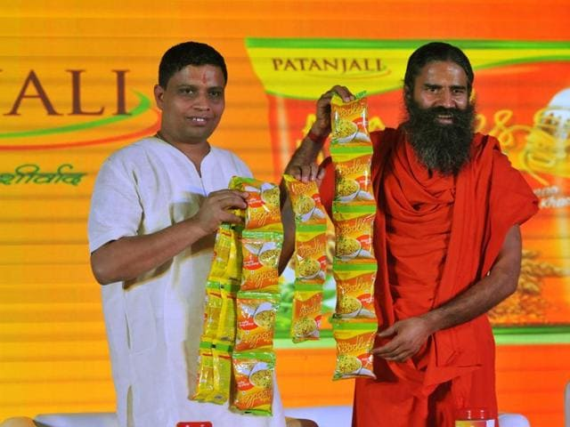 Ramdev Launches Patanjali Instant Noodles Plans 6 Plants