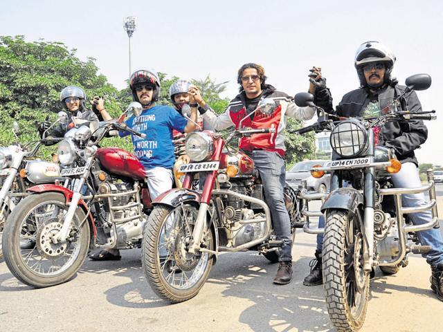 Indirapuram,riders' group,motorcycle rides