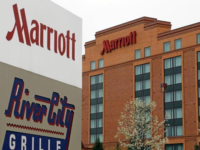This file photo shows a Marriott hotel in Cranberry Township.