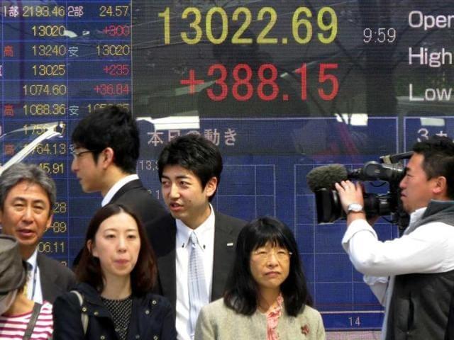 Japan,Asian shares,Paris attacks