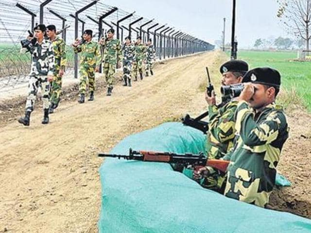 Pakistan Rangers,Border Security Force,Jammu and Kashmir