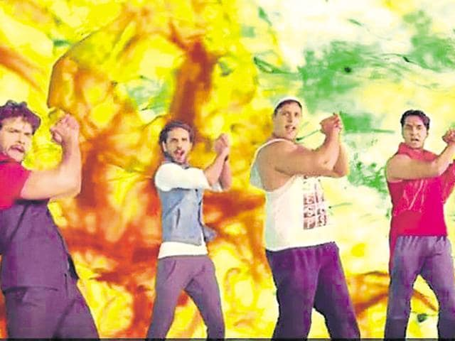 A screengrab from the video Mera Desh Hai Mahaan, Mera Desh Hai Jawaan.(YouTube)