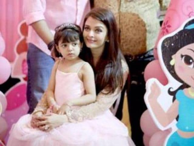 Aaradhya turns four on Monday.