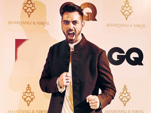 Arjun Rampal  at a Shantanu and Nikhil show.