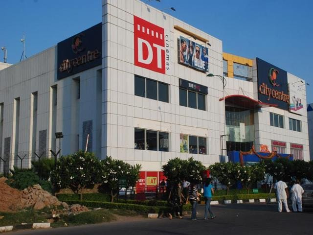 The premises of UT Mall at IT Park in Chandigarh.
