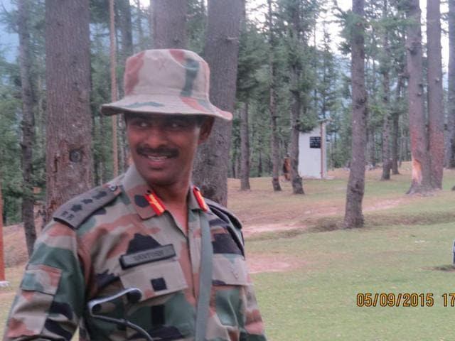 Colonel Santosh Mahadik, commanding officer of the 41 Rashtriya Rifles, was injured when a search party he was leading came under fire from militants in the dense forests of Haji Naka along the Line of Control.