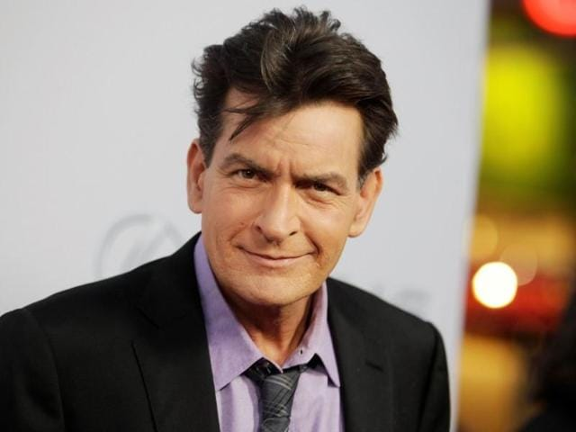 A file photo of Charlie Sheen. The actor will reportedly announce on Monday that he is HIV-positive.