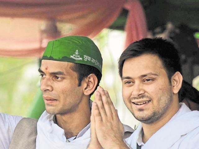 Lalu Prasad's sons, Tej Pratap and Tejashwi, are among the young faces that registered their maiden wins.