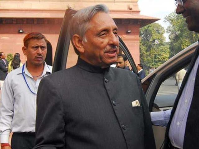 Congress leader Mani Shankar Aiyar.