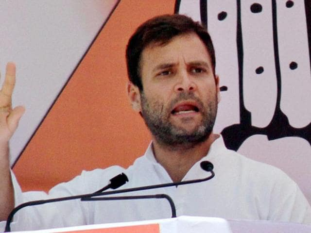 Congress vice-president Rahul Gandhi would lead a 21-member party delegation to President Pranab Mukherjee.