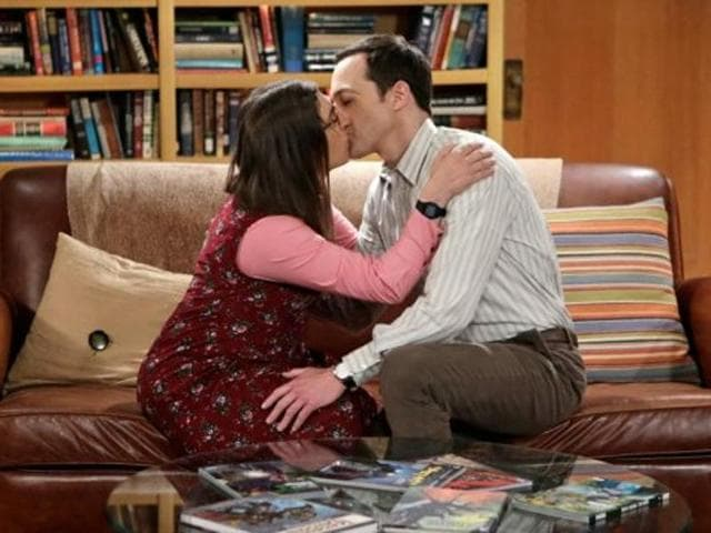 The on-again, off-again couple, played by Jim Parsons and Mayim Bialik, will have sex for the first time in an upcoming episode.
