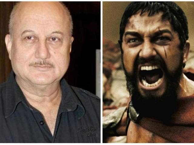 Anupam Kher is already in Toronto shooting with Gerard Butler.