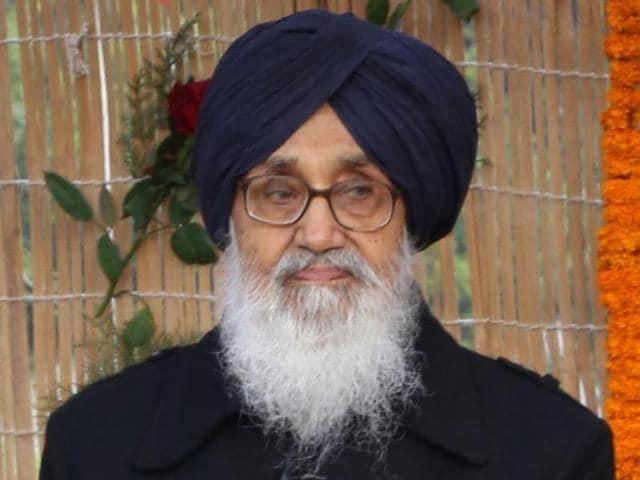 Parkash Singh Badal,Peace in Punjab,Address