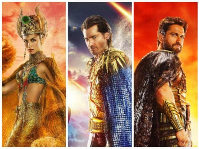 The Gods of Egypt assemble for your entertainment.