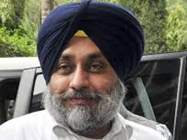 Deputy chief minister Sukhbir Singh Badal .
