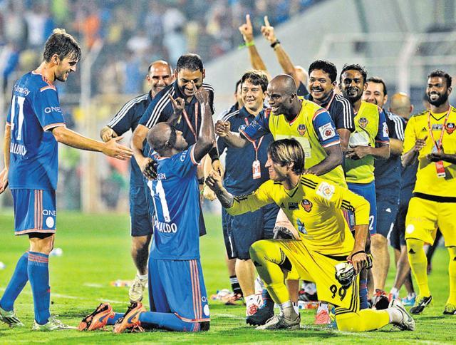 ISL 2015,FC Goa vs Mumbai City FC,Thongkhosiem Haokip