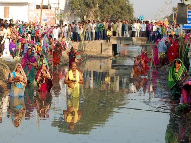 Chhat Puja,Water bodies,Plight of water bodies