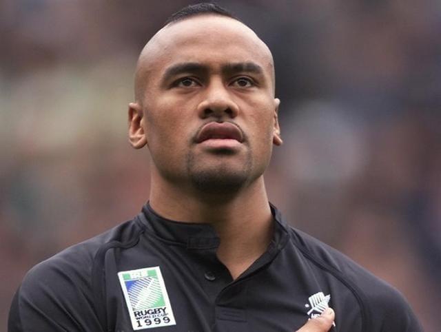 New Zealand All Blacks rugby great Jonah Lomu