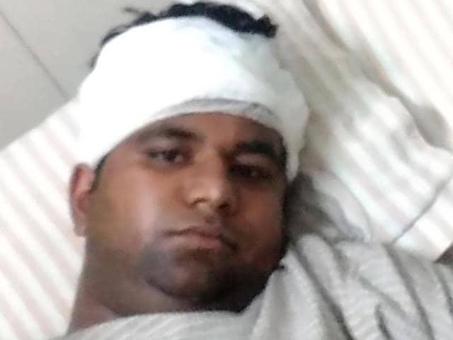 Shivam Yadav was attacked on November 8.