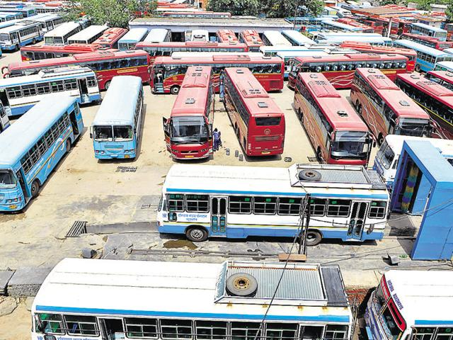 According to the policy, an individual, firm or society can hire a maximum of five buses registered with the state transport department.