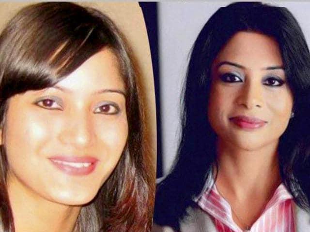 File photos of Indrani Mukerjea and Sheena Bora