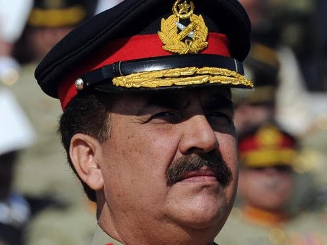 File photo of Pakistan's new army chief General Raheel Sharif attending a ceremony, in Rawalpindi.
