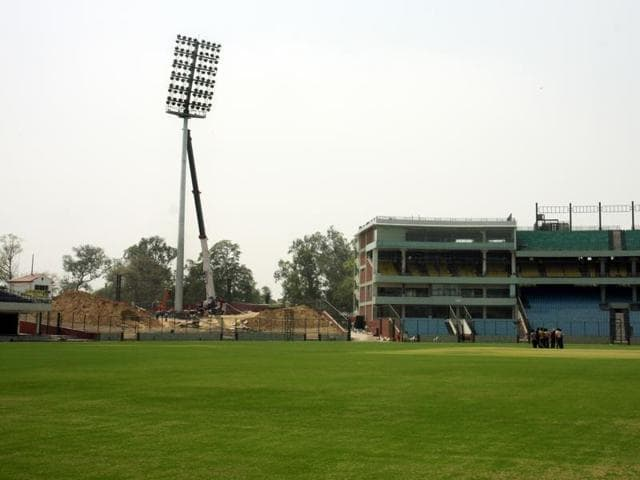 The Delhi high court asked DDCA to deposit Rs one crore in two instalments of Rs 50 lakh each with the department whose clearance is also required to host the India-South Africa Test match at Feroz Shah Kotla stadium.