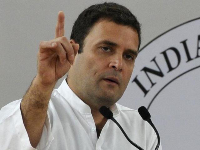Rahul challenges Modi