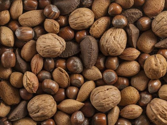 Tree nuts contain important nutrients like unsaturated fats, protein, vitamins and minerals.