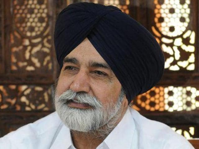The incident took place around 5pm when Maluka, along with his supporters, was touring villages to mobilise people for the Sadbhawna rally at Bathinda on November 23.