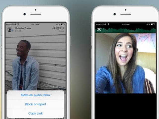 Vine has introduced new sound tools.