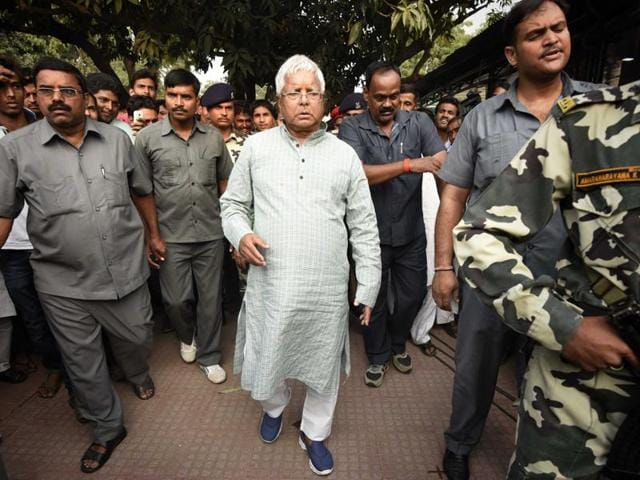 Days after his party emerged as the single-largest entity in Bihar assembly trouncing the BJP-led NDA, the CBI has sought to put Lalu Prasad in the dock in a fodder scam case.