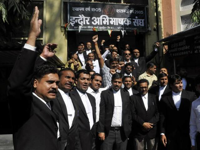 lawyer strike,State Bar Council of Madhya Pradesh,lawyer shot dead in Mhow