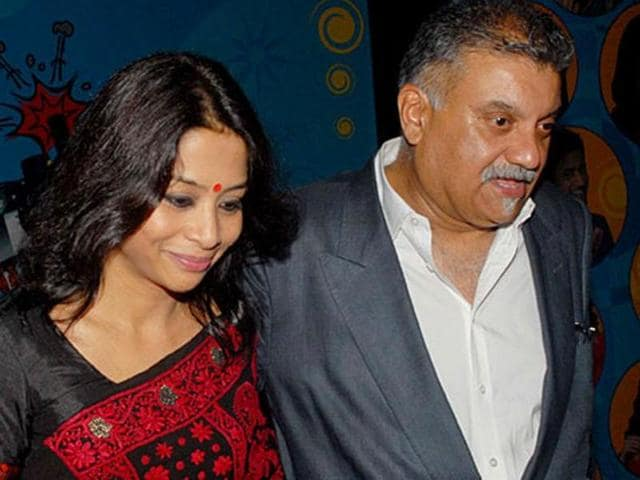 Indrani and her husband Peter Mukerjea.