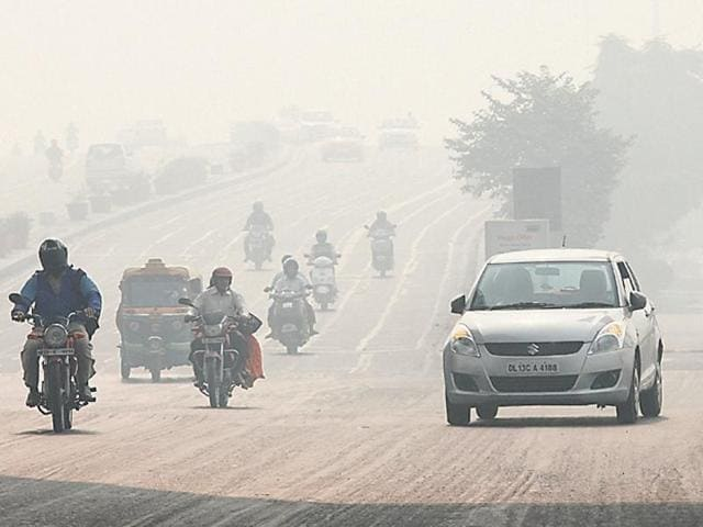 Smog from vehicular pollution and stubble-burning made commuting difficult and left those with respiratory ailments gasping for breath in Delhi on Thursday. It is likely to linger for a while.