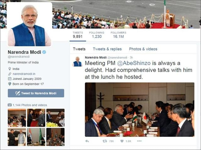 Narendra Modi,Twitter,Twitter followers