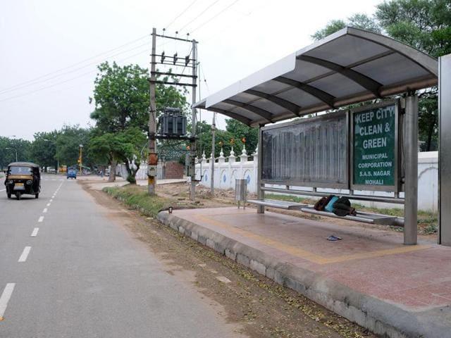 SAS Nagar,MC,bus queue