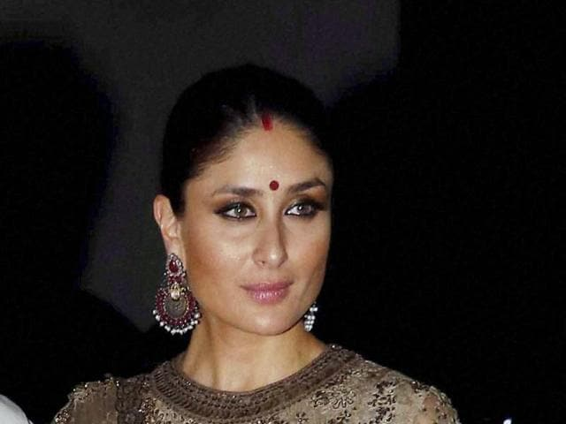 Saif Ali Khan and Kareena Kapoor arrive to attend Diwali party hosted by Shilpa Shetty in Mumbai, on Monday.