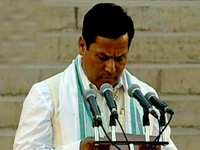 The BJP on Saturday named Union minister Sarbananda Sonowal as its Assam unit president, potentially elevating him as the party's chief ministerial candidate in the Congress-ruled state going to the polls early next year.