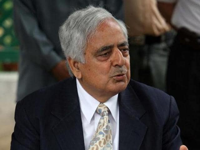 Jammu and Kashmir chief minister Mufti Mohammad Sayeed.