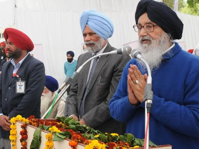 """Badal claimed he wasn't aware of Sukhbir's statement. """"I am not aware of Sukhbir's statement and neither I've ever said something like this (Congress being an anti-national party)"""", said Badal, as he faced a volley of question."""