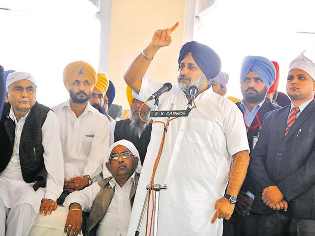 Sukhbir Singh Badal, who is also the SAD president, personally visited the venue on Sunday to oversee the arrangements.