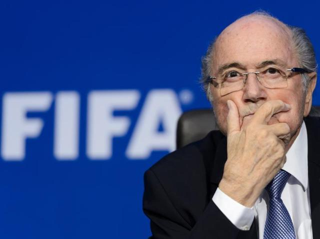 Fifa corruption scandal,Sepp Blatter illness,Uefa chief Michel Platini